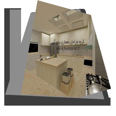 طراحی آشپزخانه اداری و صنعتی