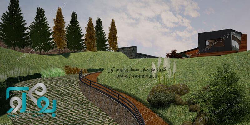 طراحی و اجرای فضای سبز