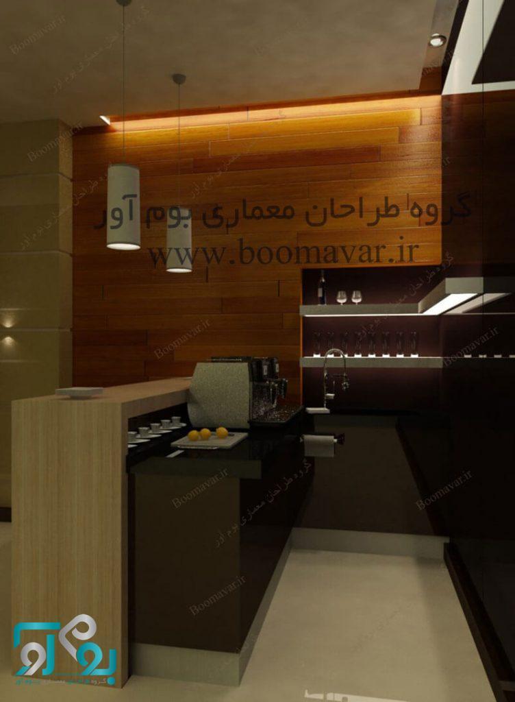 بازسازی و اجرای دکوراسیون داخلی رستوران