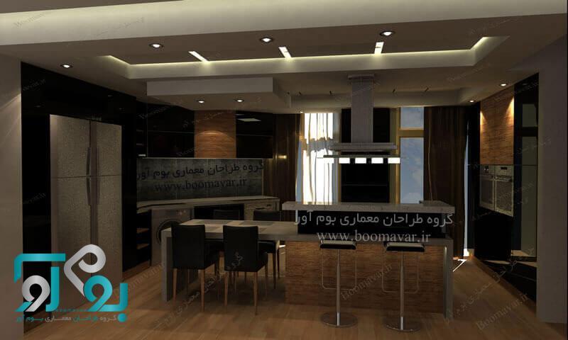 دکوراسیون آشپزخانه ایرانی