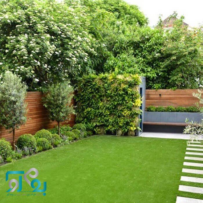 محوطه سازی حیاط ویلا منزل باغ