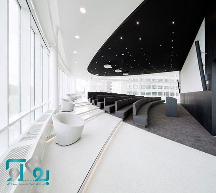 طراحی دکوراسیون داخلی اتاق کنفرانس