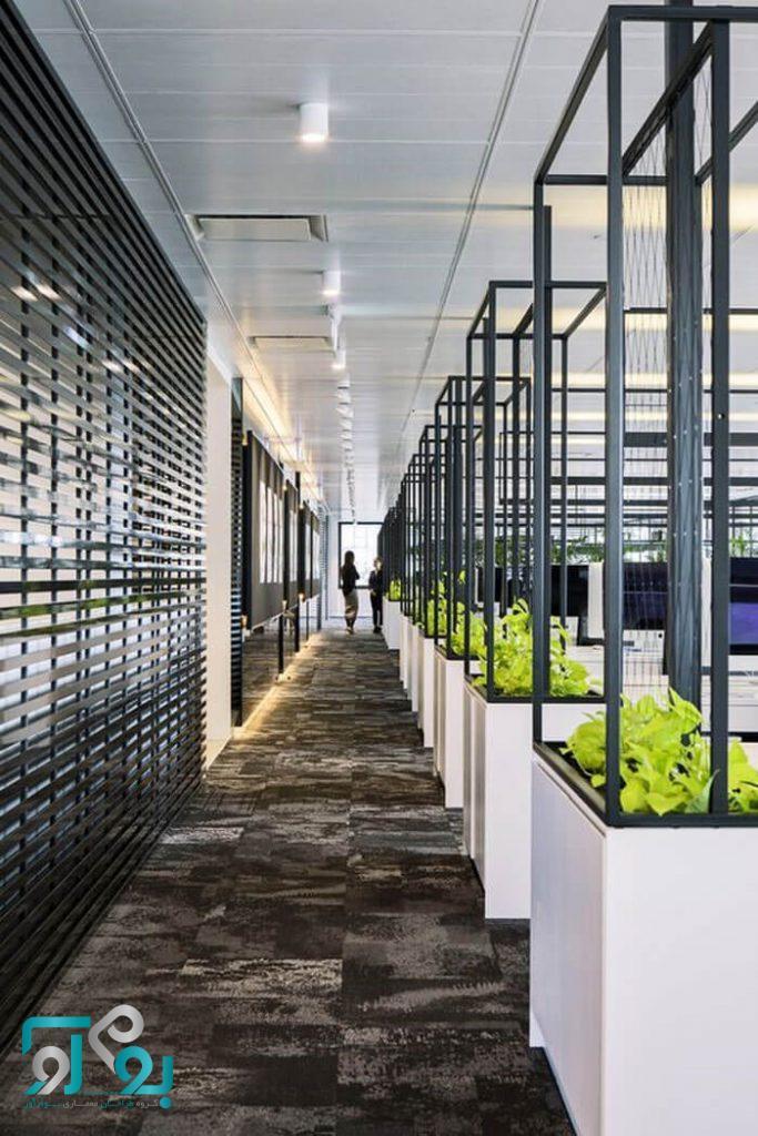 طراحی دکوراسیون دفاتر کاری