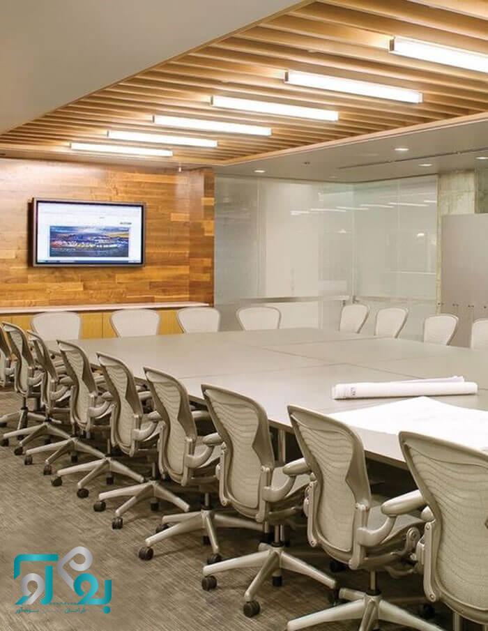 طراحی دکوراسیون محیط کار اداری