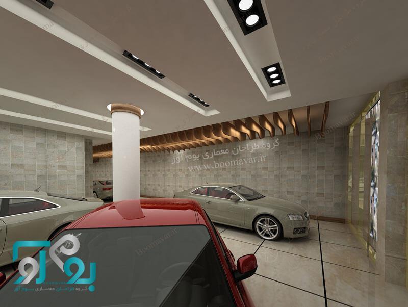 طراحی نمایشگاه اتومبیل لاکچری