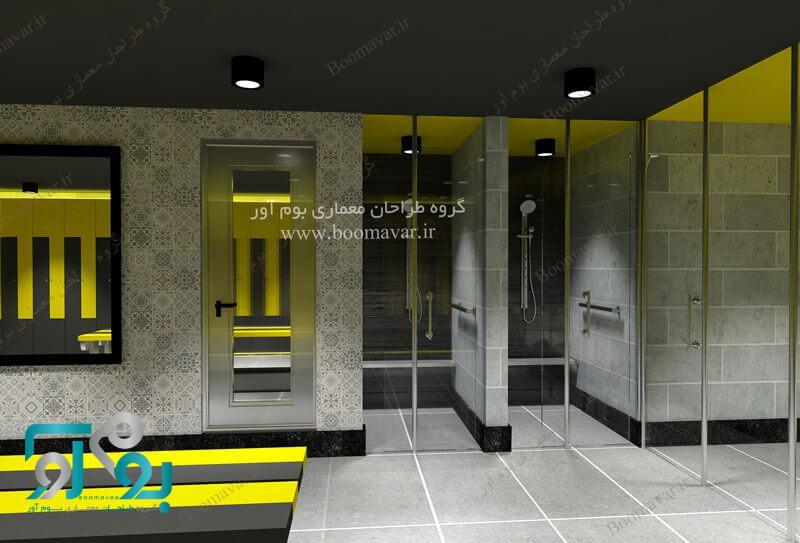 نمونه طراحی باشگاه بدنسازی