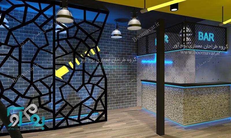 طراحی و دکوراسیون داخلی باشگاه بدنسازی