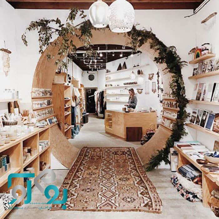 دکوراسیون داخلی مغازه شیک